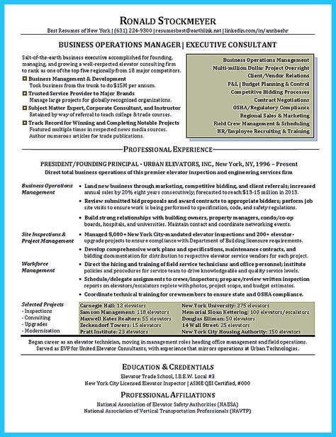awesome The Most Excellent Business Management Resume Ever, Check - Contract Compliance Resume