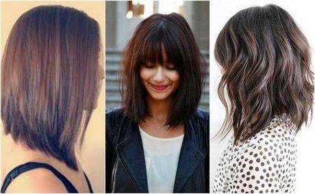 Proste Włosy Do Ramion Z Grzywką Włosy W 2019 Włosy Do