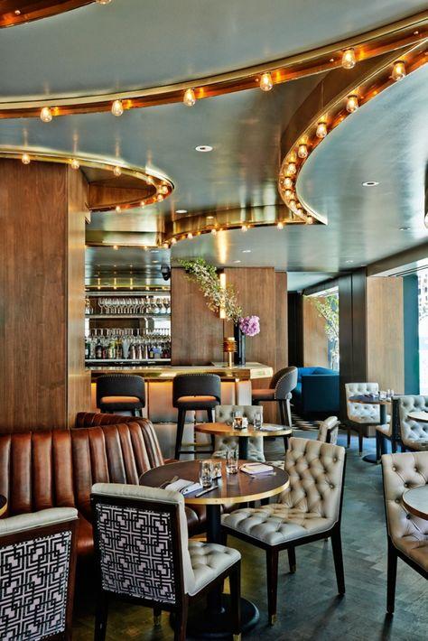 The Sliver Restaurant Interior By Darkdesigngroup Contemporist
