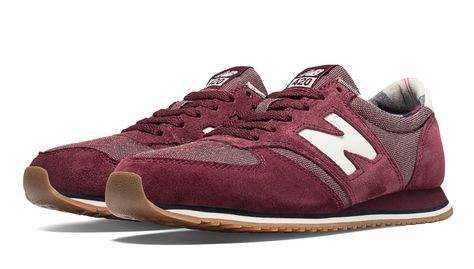 New Balance 420, Classic Red with Ruby & White | Shoes | New