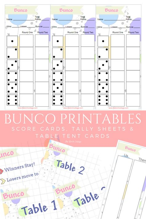 photo about Printable Bunco Table Tally Sheets identify Easter Bunco Ranking Card Fastened - Peeps - Spring Bunco - Tally