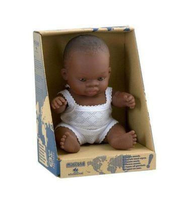 Miniland Educational Baby Doll Asian Girl 21cm