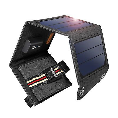 120w Foldable Solar Panel 12v Solar Suitcase Power Bank Hiking Battery Charger Solar Panel Charger Solar Charger Portable Solar Charger