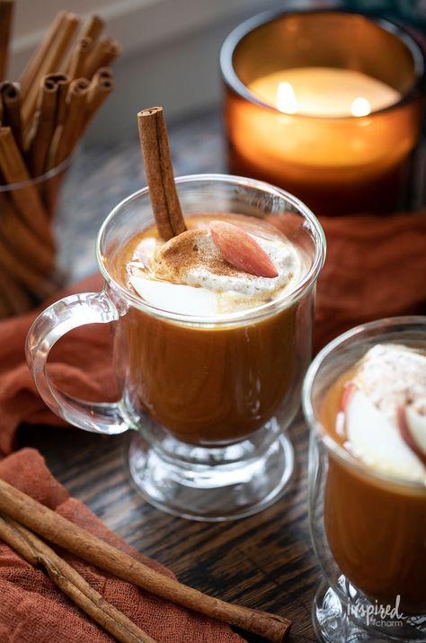 Pumpkin Apple Cider #fall #applecider #pumpkinspice #cocktail #drink #recipe #cider