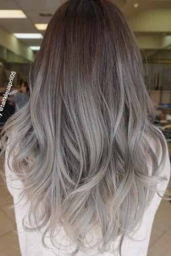 17+ Gray ombre hair ideas