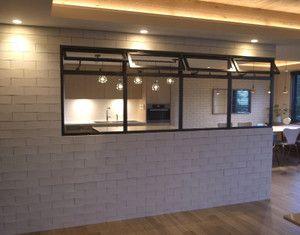 ちょっと隠したい セミオープンなキッチン 株 リブコンテンツのブログ 部屋 間取り 室内窓 アパートのデザイン