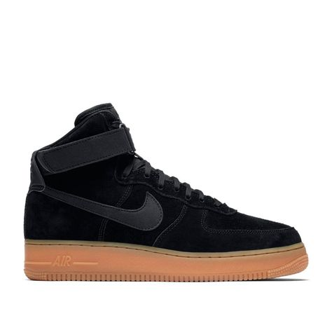 Nike Air Force 1 High '07 LV8 Suede (Schwarz) #sneakers