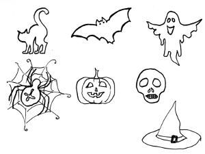 Easy Halloween Drawings Ideas With Images Easy Halloween