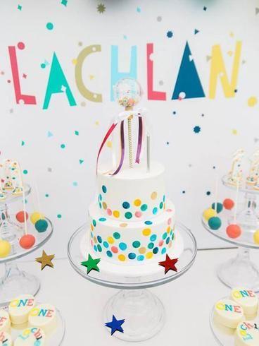 Number Confetti Age Confetti 25CT. Silver 1st Birthday Party Decor Ideas One Confetti