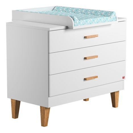 Lounge Oak Drawer White Vox Design Baby Children Drawers Lounge Vox Design