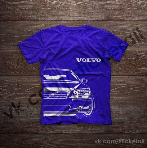 Volvo S60 /'Evolution of Man/' classic car t-shirt