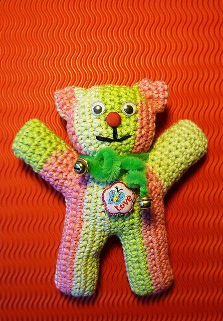 Ravelry: Teddy Bear pattern by Elfin Thread | Crochet teddy bear ... | 640x445