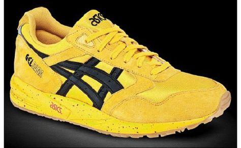 asics gel saga amarillas