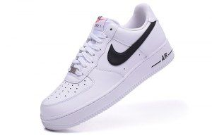 Nike Air Force 1 Low White Black 488298 158 Mens Casual