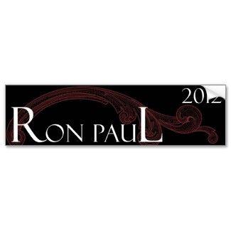 Ron Paul 2012 bumper sticker 2