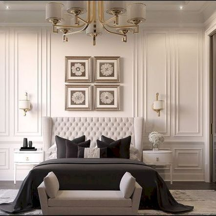 Impressive Classic Modern Bedroom Design Ideas 02 Luxurious Bedrooms Modern Bedroom Design Classic Bedroom