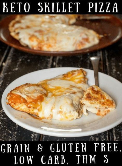 Low Carb Pizza In A Skillet With Images Low Carb Pizza Best