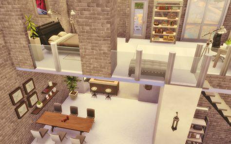 Loft The Sims 4 ~ Via Sims