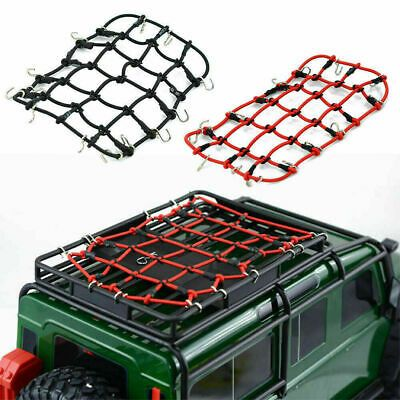 Advertisement Rc Car Roof Rack Cargo Elastic Luggage Net Hooks For 1 10 Scx10 D90 Crawler In 2020 Car Roof Racks Truck Roof Rack Roof Rack