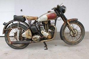 Triumph 3hw C 1942 350cc 1 Cyl Ohv Triumph Bikes Triumph Motorcycles Vintage Bikes