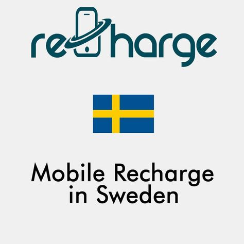 Mobile Recharge in Sweden. Use our website with easy steps to recharge your mobile in Sweden. Mobile Top-up Instant & Worldwide. You may call it mobile recharge, mobile top up, mobile airtime, mobile credit, mobile load or whatever you want #mobilerecharge #rechargemobiles https://recharge-mobiles.com/