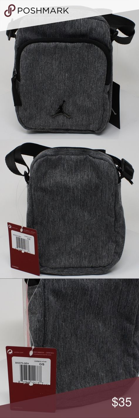 Nike Air Jordan Small Festival Crossbody Bag Nike Air Jordan Small Festival Crossbody  Bag Brand New With Tags Color  Grey Style code  9A0070-GEH Approximate ... 83eecbb39a0f8