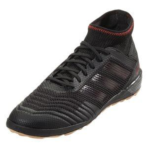 Adidas Predator Tango 19 3 In Indoor Soccer Shoe Core Black Core Black Active Red Soccer Shoe Futsal Shoes Soccer Shoes