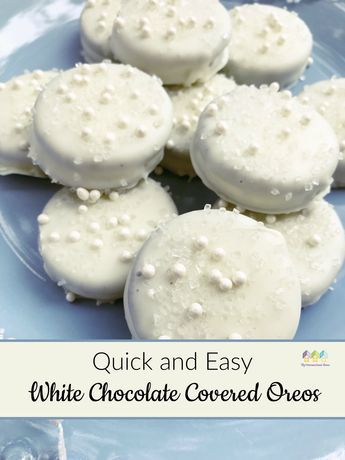 Quick And Easy White Chocolate Covered Oreos