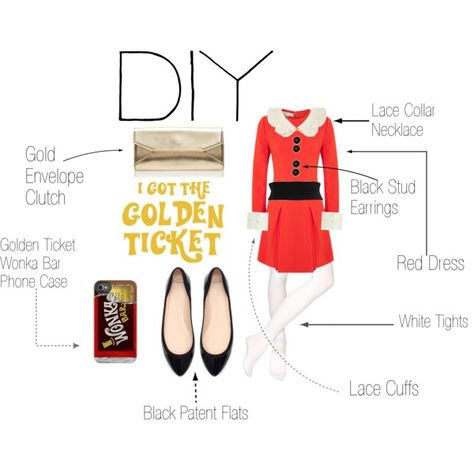 Veruca Salt. Willy Wonka. DIY Halloween Costume