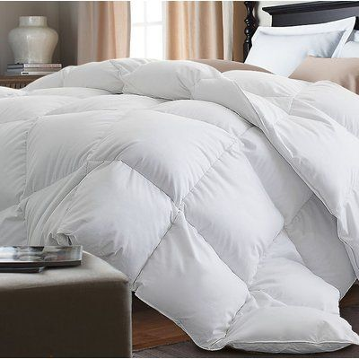 Alwyn Home Down Alternative Single Comforter Color White Size Full Queen Home Comforters Comforter Sets