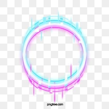 Fault Neon Border Element Circular Troubleshooting Wind Glitch Png Transparent Clipart Image And Psd File For Free Download Simple Background Images Neon Png Frame Clipart