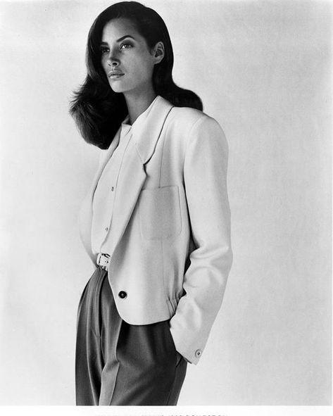 Calvin Klein 1989 Christy Turlington