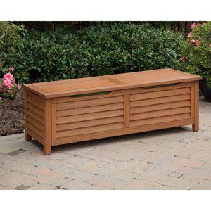 Crosley Furniture Palm Harbor Brown Outdoor Wicker Storage Bin Co7300 Br In 2020 Patio Storage Bench Patio Storage Deck Box