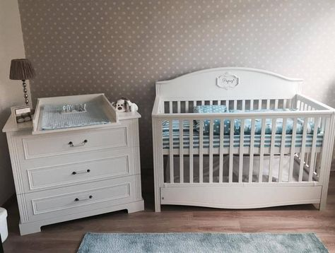 Lilly Nursery Set - Cot Bed & Chest Of Drawers | Real ...