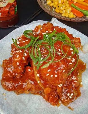 Fire Chicken Di 2020 Resep Masakan Masakan Resep