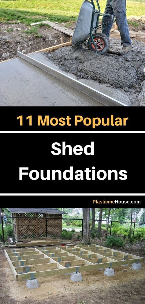 11 Most Popular Shed Foundations (#3 is My Favorite)