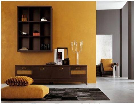 esempi-soggiorno-camera-da-letto-wenge-12 | Arredamento | Pinterest