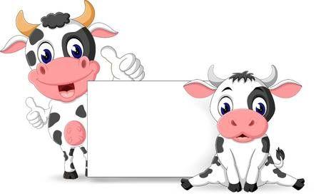 Illustration Of Cute Baby Cow Cartoon Cute Baby Cow Cartoon Cow Cow Cartoon Images