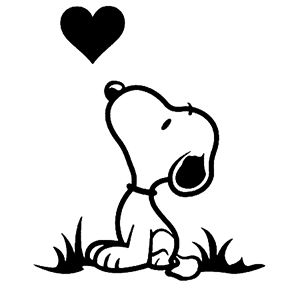 Snoopy Die Cut Vinyl Decal for Windows, Vehicle Windows, Vehicle Body Surfaces or just about any surface that is smooth and clean