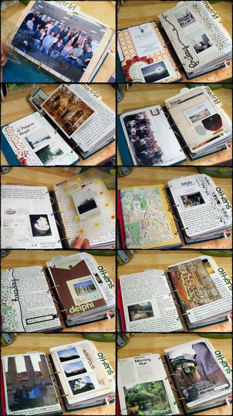 Scrapbook on the road