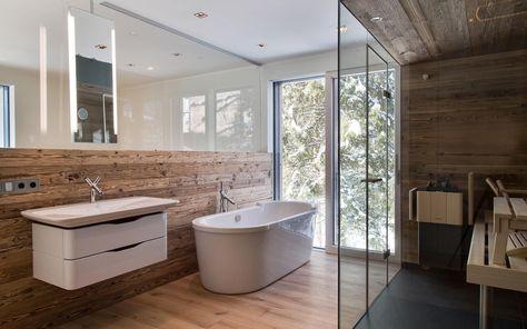Altholz ist ein Thema, das sich durch unsere Artikel zieht Meist - sauna fürs badezimmer