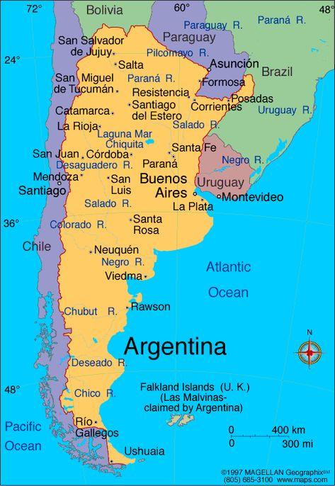 Argentina Argentinos Pinterest Argentina Visit Argentina - Argentina map salta