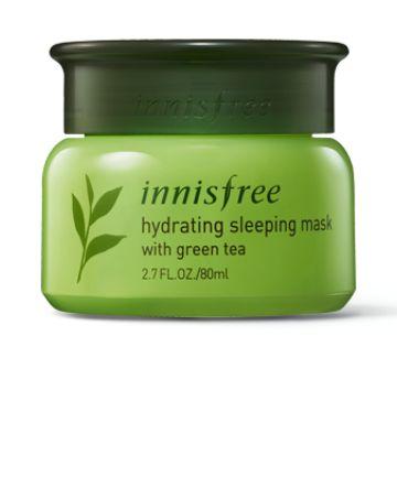 Innisfree Hydrating Sleeping Mask With Green Tea 16 64 Innisfree Sleep Mask Skin Care