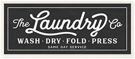 Amazon Com The Stupell Home Decor Collection Vintage Laundry Sign