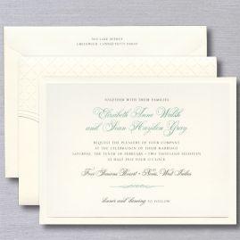 William Arthur Wedding Invitations Crane Com Wedding Invitations Wedding Invitation Fonts Shimmer Wedding Invitations