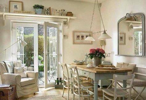 Shabby Chic E Arredamento Provenzale Saloni Dining Room