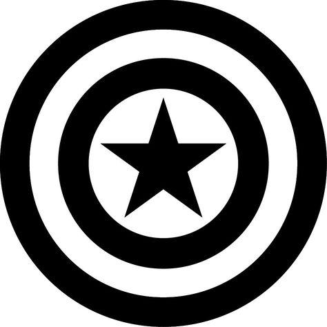 403 Forbidden Captain America Tattoo Avengers Symbols Captain America