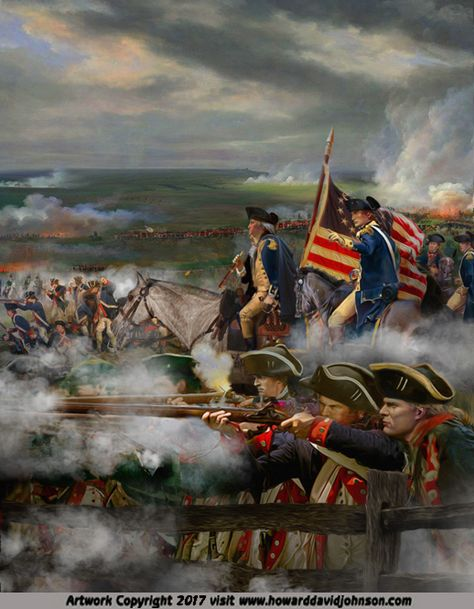 The Legends of History Part Two: History Paintings & an Outline of History by Howard David Johnson. Military Diorama, Military Art, Military History, American Spirit, American War, American History, Patriotic Pictures, Silk Stockings, American Revolutionary War