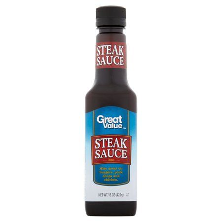 2 Pack Great Value Steak Sauce 15 Oz Walmart Com Steak Sauce Sauce Steak