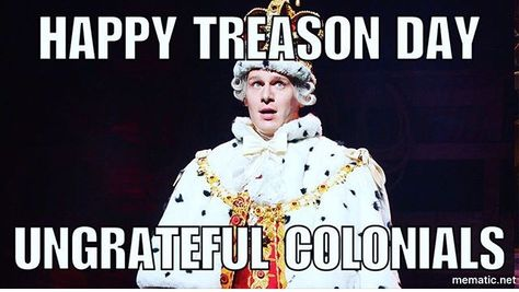 Happy 4th of July from King George the third